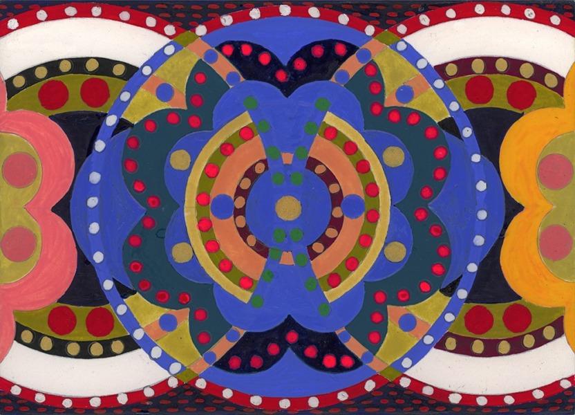 Mandala Board 004