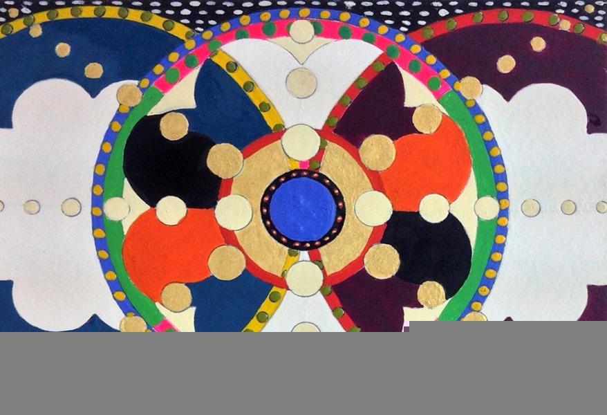 Mandala Board 003