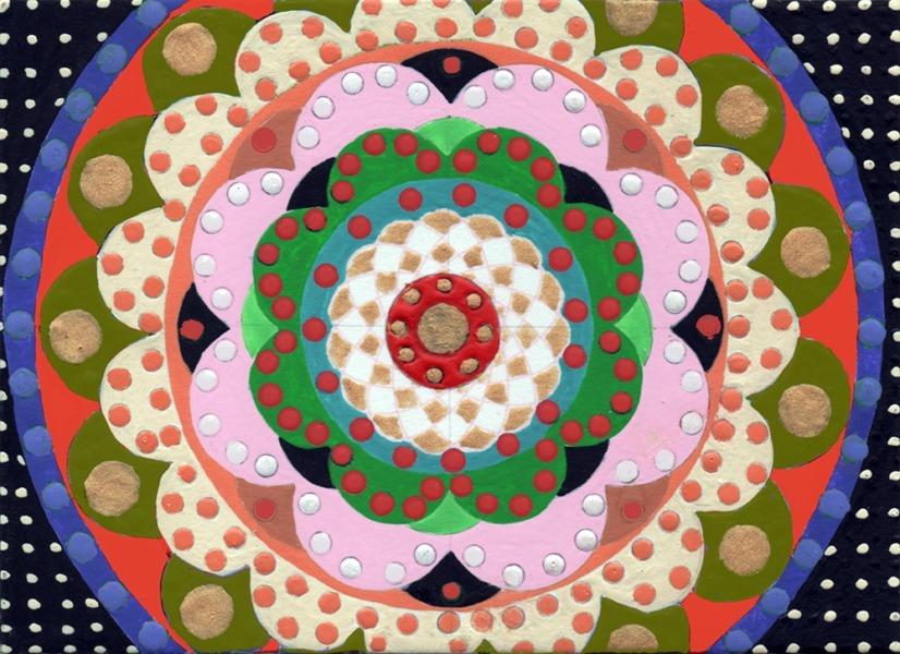 Mandala Board 006