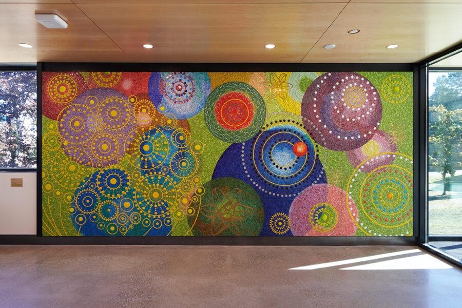 WSH mural in situ