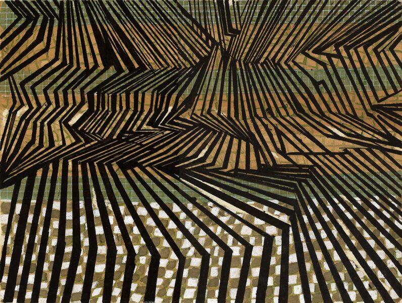 Untitled 2021-11 (sticks fence)